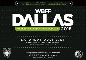WBFF PAC live event