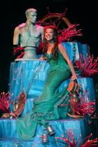 """Jessica Grové as Ariel in the Music Circus production of """"The Little Mermaid"""" at the Wells Fargo Pavilion July 10-22. Photo by Charr Crail."""