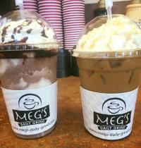 Meg's Daily Grind drinks