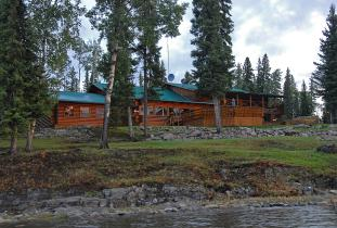 North Star Executive Outpost on World Class Acclaimed Knee Lake