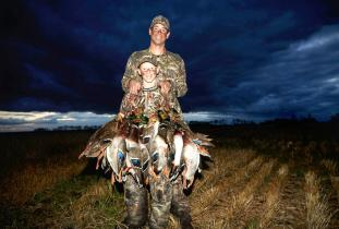 Waterfowl hunting outfitter Canada