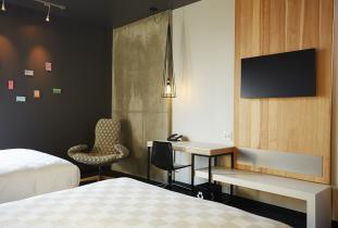 Spacious work desk and complimentary wi-fi in every room