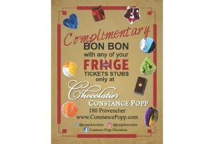 Chocolatier Constance Popp Handbill