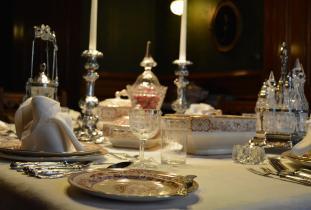 Dalnavert Interior - Dining Room
