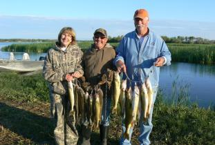 Walleye Fishing