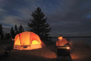 Camping in Riding Mountain National Park