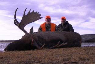 Agassiz Outfitter, moose hunting 1