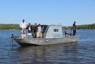 Trail End Camp Boat 2