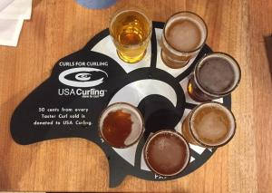 RAM Brewery Beer Flight