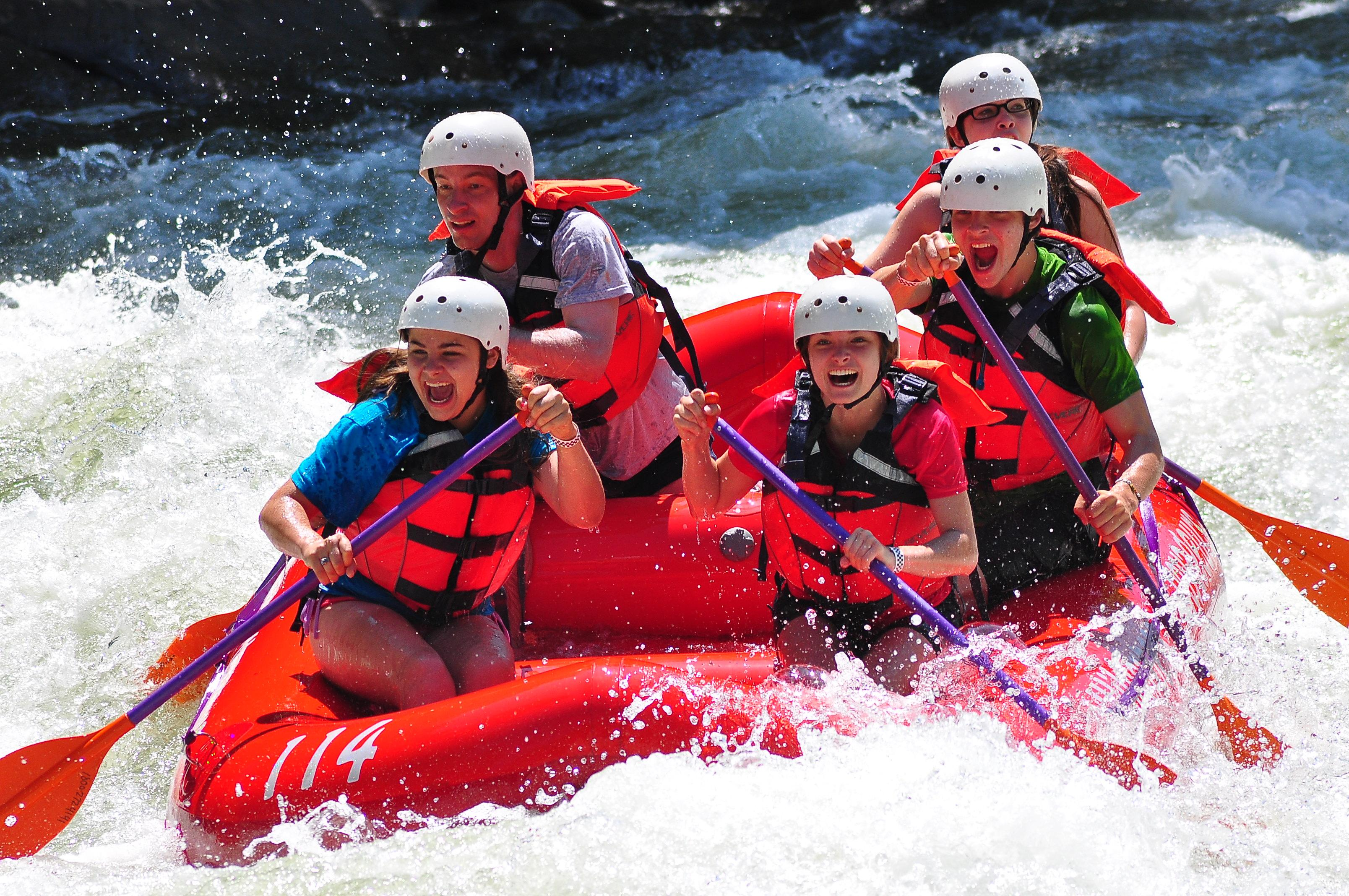Whitewater Rafting at Ohiopyle