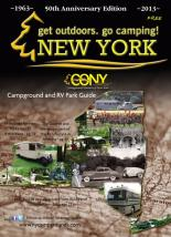 The 2013 Directory of Campgrounds and RV Parks, published annually by Campground Owners of New York (CONY), is now available for free upon request online