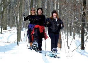 Snowshoeing, Seven Springs Mountain Resort