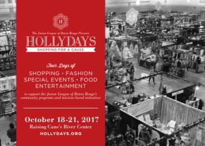 Hollydays 2017