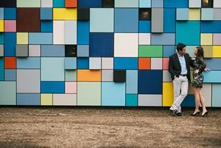 Engagement Photo Synchronicity of Color
