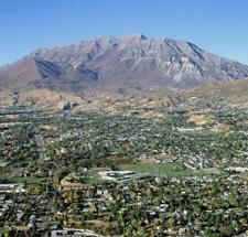 Provo and Mount Timpanogos