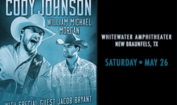 Cody Johnson, William Michael Morgan, Jacob Bryant