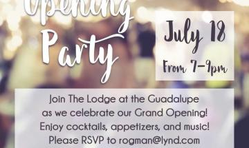 Grand Opening: Ranch at the Guadalupe