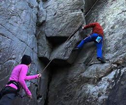 Great Falls: Rock Climbing