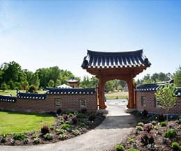 Korean Bell Garden: One of a kind