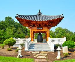 Korean Bell Garden: Grand Pavilion