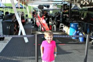Child in the pits at the US Nationals
