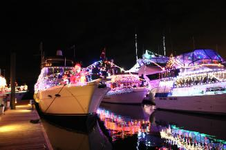 Lighted Boat Parade 2016