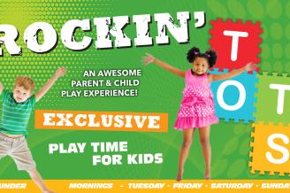 Rockin' Tot's Time @ Rockin' Jump Trampoline Park