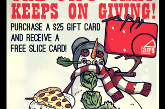 Free Slice Card with Gift Card Purchase