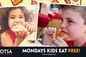 Kids Eat Free Every Monday!