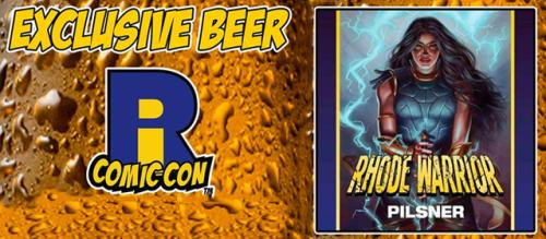 RI Comic Con Exclusive Beer