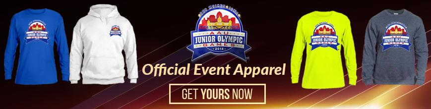AAUJO Event Apparel Banner Ad