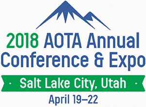 AOTA 2018 logo