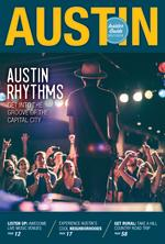 Austin Insider Guide Cover with Gary Clark Jr on stage