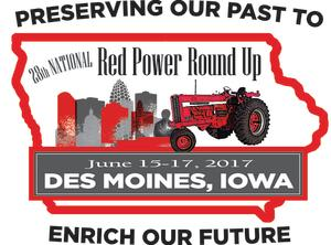 Red Power Round Up Logo
