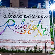 All Are Welcome Pride Mural