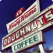 Krispy Kreme Sign
