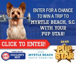 Eggland's Best PupStar Trip Giveaway