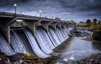 Glick Road Bridge/Falls