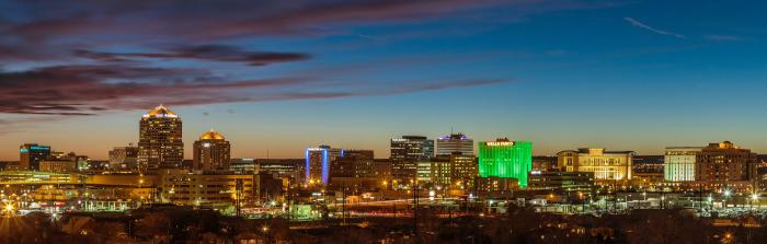 Albuquerque Skyline Cropped