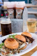 Odin Brewing Company burgers