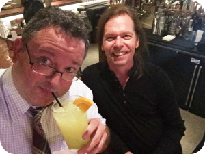 This is me and a classic margarita and Paul.