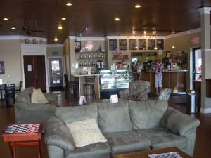 You'll feel right at home at Mocha Lounge.