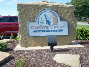 Coyote Creek sign