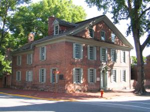 Amstell House, Historic New Castle, Delaware
