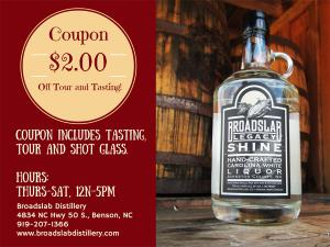 Broadslab Distillery Coupon