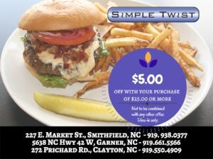 Simple Twist coupon