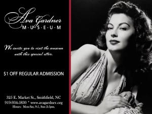 Ava Gardner $1 Off Coupon