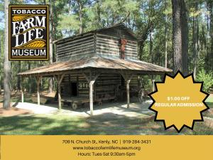 Tobacco Farm Life Museum $1 Off Coupon
