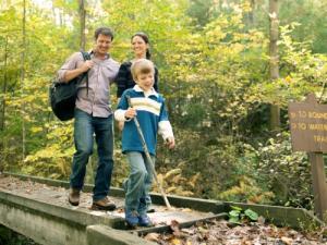 Family at Kings Gap