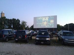 Old time family fun at 49er Drive-In Theater